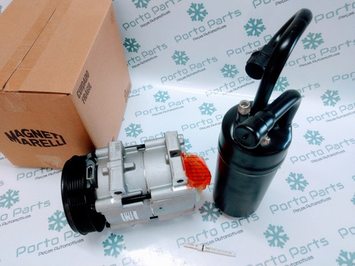 compressor ranger 3.0 magneti marelli + filtro +válvula