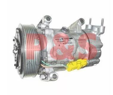 compressor sanden sd6v12 citroen c3 / peugeot 206 2001-2008