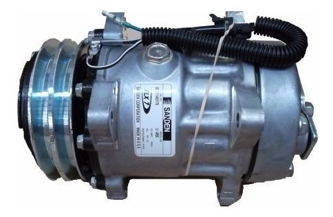 compressor sd7h15 8 orelhas polia v canal 2a original sanden