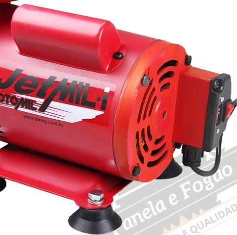 compressor tufão ar direto motomil jetmil bivolt com kit