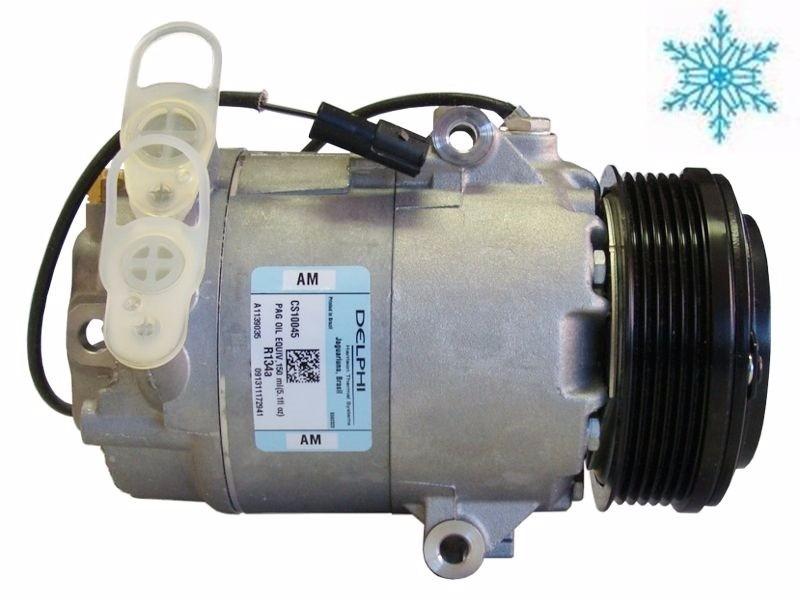 8184fce77a2 Compressor Vw Gol G3 G4 Parati Saveiro 1.6 Original Delphi - R  849 ...