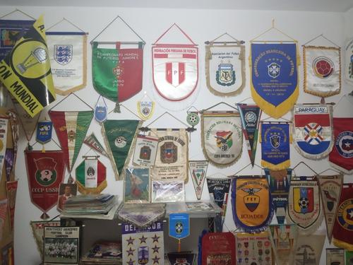 compro banderínes de fútbol oficiales