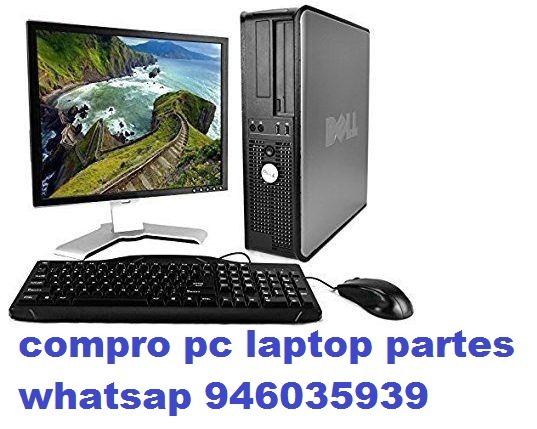 Compro Computadoras Laptop Placas Memorias Discos D