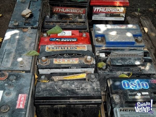 compro metales y baterias