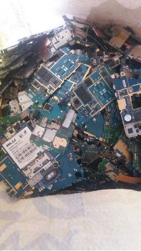 compro placas de celulares sucata por kilo lixo eletrônico