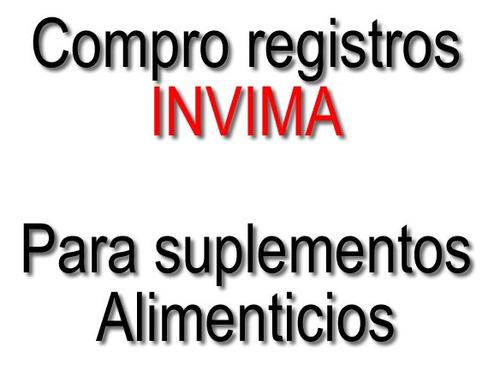 compro registro invima