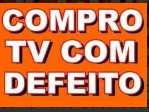 compro tv com defeito