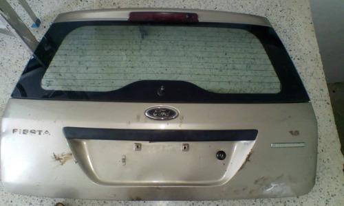 compuerta maletera de ford fiesta power max move 04-14