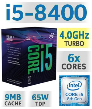 computa cpu gamer core i5 8va 2tb 16gb rx-470 4gb led 20, i7