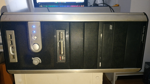 computador 4gb ram intel 2 quad q6600 fonte 430w cooler mast
