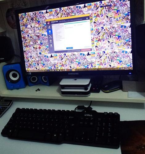 computador 4gb/placa de video 512gb + monitor led21pol