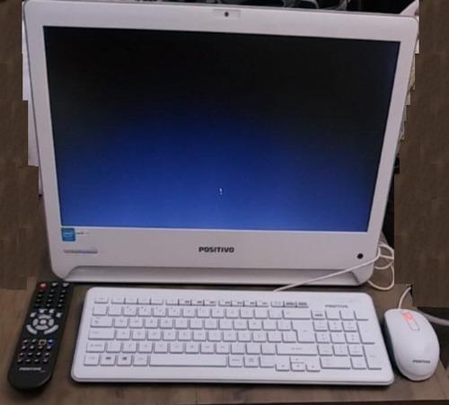 computador all in one 4gb hd500 gigas com tv de mostruario