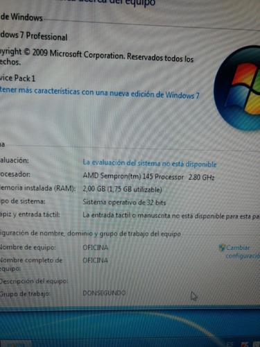 computador amd sempron 500gb