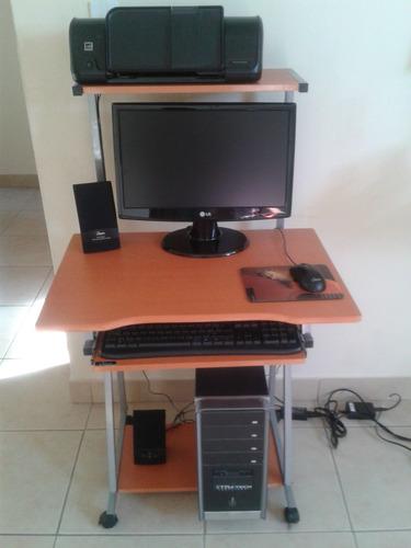 computador amd,monitor 19 ,disco 250gb,ram 4gb,mesa,impresor