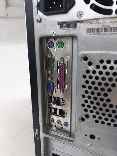computador cce 80gb intel dual core