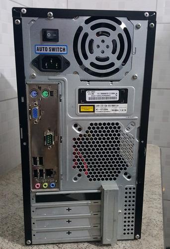 computador cce cm23 4gb ddr3 hd 160gb