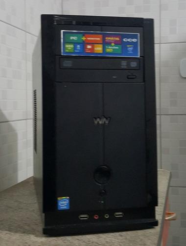 computador cce cm23 4gb ram ddr3 hd 160gb sata