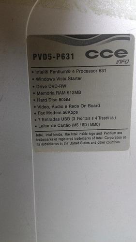 computador cce pentium