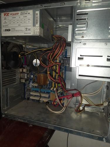 computador completo 4 giga ram duo core 2.80 ghz hd 500 top