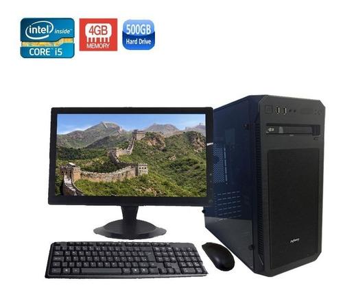 computador completo core i5-2400 4gb hd 500gb + monitor 19