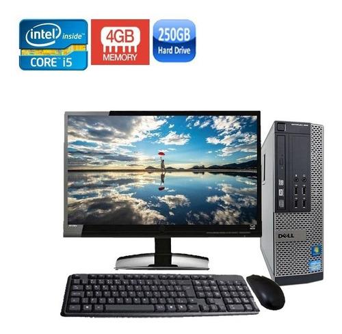 computador completo dell 990 sff core i5 4gb hd250gb + wi-fi