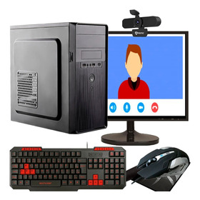 Computador Completo Home Office 8gb Ram Hd + Ssd Com Webcam