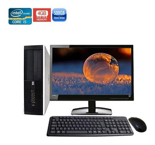 computador completo hp 8100 sff core i5 4gb hd 500gb + wi-fi