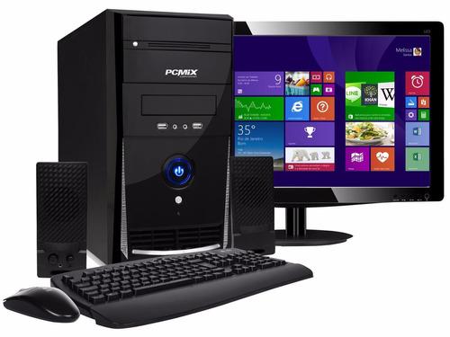 computador completo para cyber oficina hogar