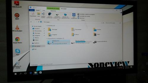 computador con monitor
