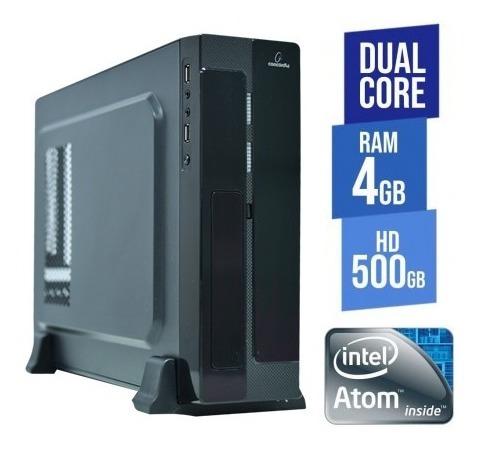 computador concordia - sff dual core 4gb hd 500gb