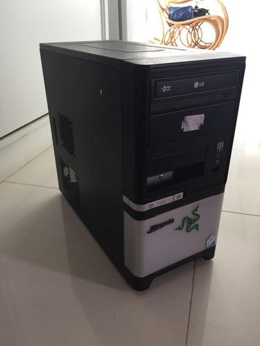 computador core 2 duo com monitor