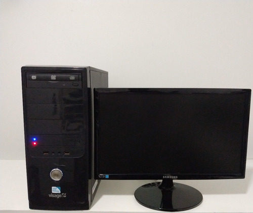 computador core 2 quad +monitor 17+teclado +mause