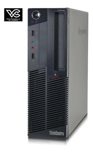 computador core i3 de 3.1.ghz,completa lenovo thinkcentre