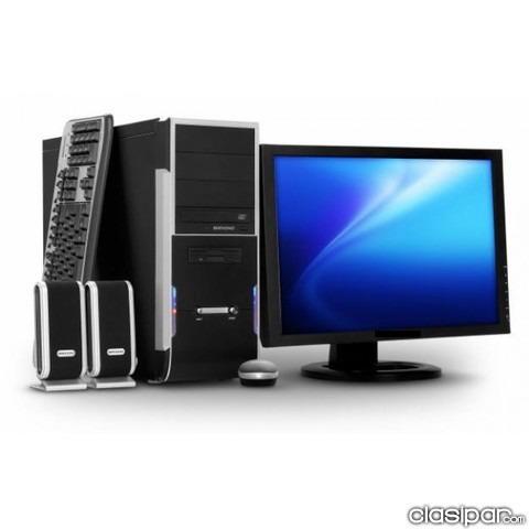 computador core i3 nuevo con monitor led cyber hogar oficina