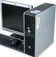 computador core2duo lcd 19 pulgadas hp dell lenovo 1gb ram