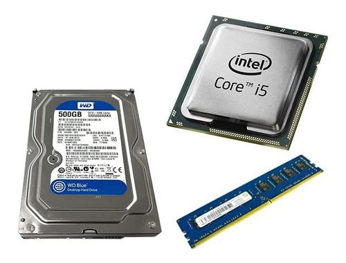 computador cpu core i5 4gb hdd500 4ta gen somos tienda