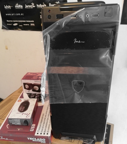 computador cpu core i5 7400 3.0  2000gb - 4 gb ram dvd