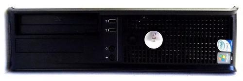 computador cpu desktop barato pc dell optiplex 4gb ram 80gb hd - usado