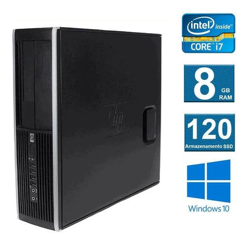 computador cpu desktop hp elite 8300 i7 8gb 120ssd