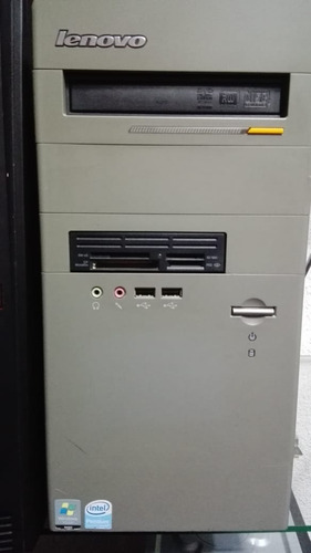 computador cpu lenovo intel core 2 duo windows 10 + 17 progr