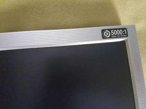 computador da hp pavilion com monitor da lg flatron de 17