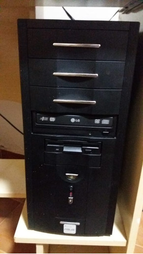 computador de mesa antigo - completo
