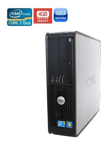 computador dell core duo 160gb