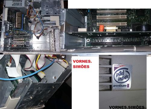 computador dell dimension xps pentium2 retrô p/ colecionador