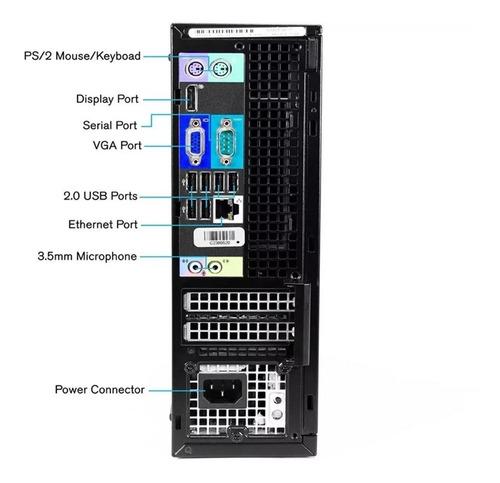 computador dell optiplex 330 4gb hd-500 dual core + wi-fi