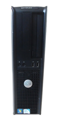 computador dell optiplex 330 ddr2 4gb 120gb ssd - semi novo