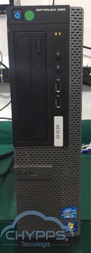 computador dell optiplex 390 i3-2120 - 4 gb ram - hd 500 gb