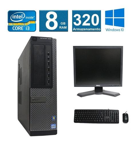 computador dell optiplex 7010 i3 8gb 320hd monitor 17
