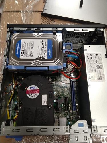 computador dell optiplex 7050 sff i5 6500 4gb ddr4 hd500 dvd
