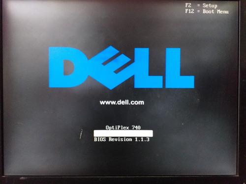computador dell optiplex 740 - windows 7